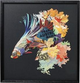 Kare Design Betta Fish Colore Decoratie