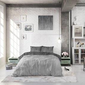 Sleeptime Elegance Wood Fresh 2 - Grijs 1-persoons (140 x 220 cm + 1 kussensloop) Dekbedovertrek