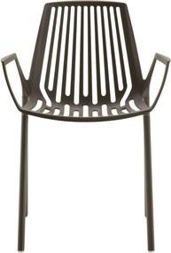 Fast Rion Armchair tuinstoel Metallic Grey