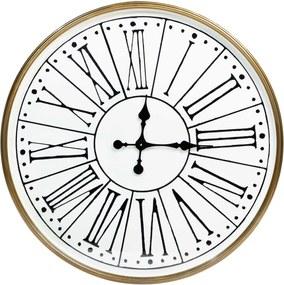 Rootsmann Industriële witte klok 81cm