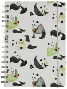 Notitieboek A5 Gelinieerd - Panda