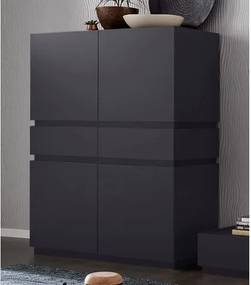 Highboard »Zela«, 4-deurs, breedte 123 cm