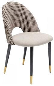 Kare Design Hudson Design Eetkamerstoel Beige