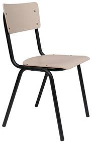 Zuiver Back To School Matte Retro Stoel Mat Beige