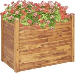 Plantenbak verhoogd 110x60x84 cm massief acaciahout