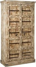 Renew Merano Antieke Vintage Kast India - 116x50x214cm.