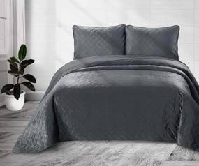 Sprei antraciet, Classico Anthracite Lits-jumeaux