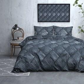 DreamHouse Bedding Diana - Verwarmend Flanel - Blauw 2-persoons (200 x 200/220 cm + 2 kussenslopen) Dekbedovertrek