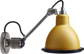 DCW éditions Lampe Gras N304 XL Outdoor Seaside wandlamp bare yellow