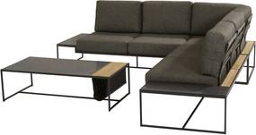 4 Seasons Outdoor Patio loungeset met Atlas loungetafel 4-delig