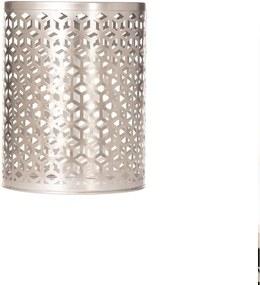 Bijzettafel Fabia 46cm silver