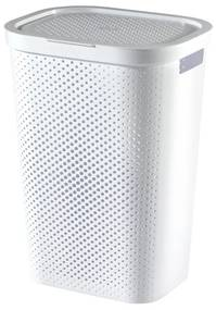 Curver Infinity Dots wasbox - 59 liter - wit
