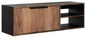 DTP Home Cosmo Zwevend Tv Meubel No.1 Klein - 125x40x40cm.