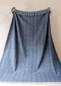 The Tartan Blanket Company - Deken Visgraat - Blauw