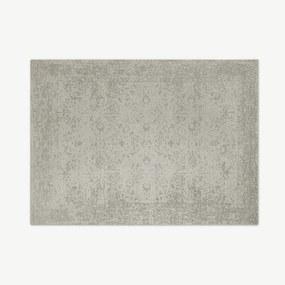 Yolanda Persisch jacquardvloerkleed, 160 x 230 cm, roomwit
