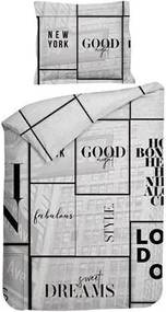 Heckett & Lane Bryce Dekbedovertrek 140 x 220 cm