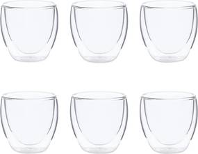 Bodum Pavina thermoglas set van 6