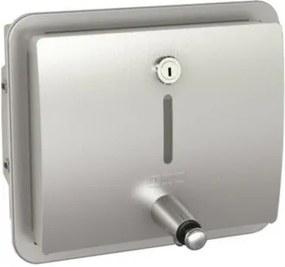 Franke Stratos inbouw zeepdispenser wand 1000 ml. rvs 2000057385
