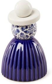 Royal Delft Proud Mary 03 Cobalt Flower ornament 14,5 cm