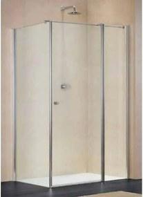 Sealskin Duka Multi S Nieuw douchecabine 169x80 deur mat zilver profiel helder glas 1826 + 1827