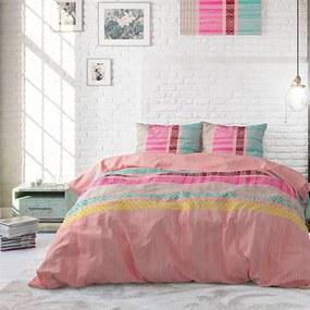 Sleeptime Elegance Achie - Roze 1-persoons (140 x 220 cm + 1 kussensloop) Dekbedovertrek