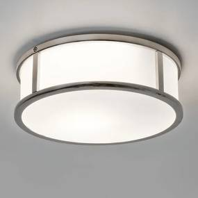 Astro Mashiko Round 230 plafondlamp exclusief E27 chroom 8.2x23cm IP44 staal A 7179