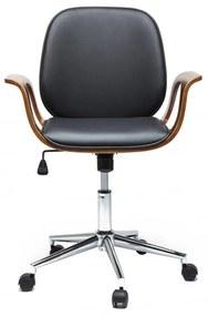 Kare Design Patron Bureaustoel Walnoot