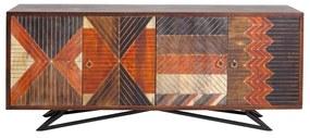 Kare Design Tomahawk Houten Dressoir Indianen - 177x45x75cm.