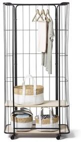 Bakkerskast kledingrek - 80x36x170 cm