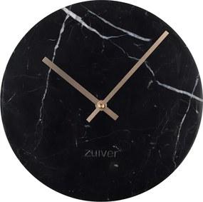 Zuiver Marble Time Zwarte Klok Van Marmer