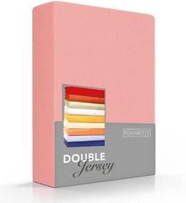 Romanette Luxe Dubbel Jersey Hoeslaken - Blossom 200/220 x 200/210/220 cm