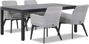4 Seasons Outdoor Lisboa/Concept 180 cm dining tuinset 5-delig