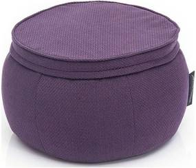 Ambient Lounge Poef Wing Ottoman - Aubergine Dream