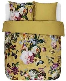 Fleur dekbedovertrek - Golden Yellow - Lits-jumeaux