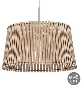 Eglo 96193 - Hanglamp SENDERO 1xE27/60W/230V