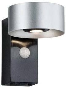 Wandlamp Cone met bewegingssensor Zilver/antraciet