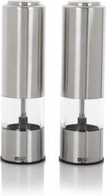 AdHoc Elektrische peper- en zoutmolen 19 cm 2-delig