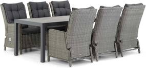 Garden Collections Kingston/Residence 220 cm dining tuinset 7-delig