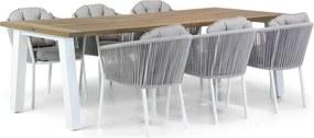 Santika Novita/Glasgow 240 cm dining tuintafel 7-delig