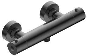 Adema Calypte thermostatische douchekraan opbouw gun metal 13132420496