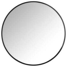Spiegel rond met metalen lijst - diameter 60 cm