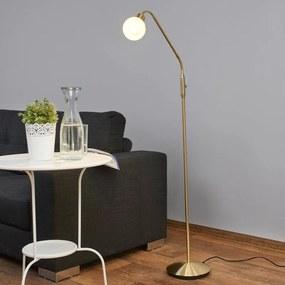 Elaina - LED-leeslamp in Messing - lampen-24