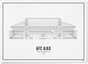 WIJCK AFC Ajax Johan Cruijff ArenA print