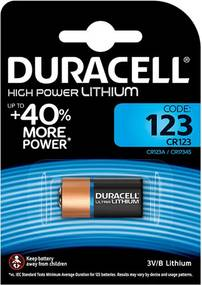 Duracell Ultra Batterij, 123A, 3V, Niet Oplaadbaar