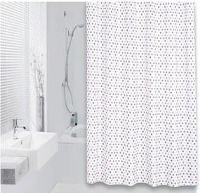 Differnz Tips Douchegordijn Textiel 180x200 Multi