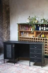 Rootsmann Vintage bureau met slot