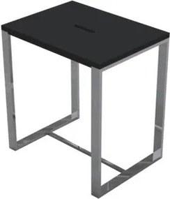 Best Design Faece Black stoel Just Solid Steel mat zwart 4004960