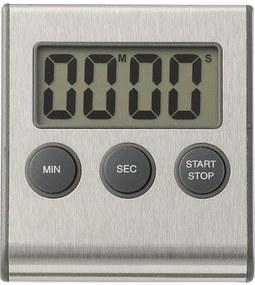 Kookwekker Digitaal Magnetisch Rvs (zilvergrijs)