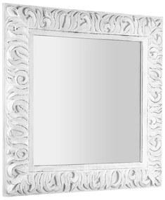 Sapho Zeegras barok spiegel 90x9cm wit houten frame