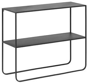 Kave Home Shantay Zwart Metalen Sidetable - 100 X 35cm.
